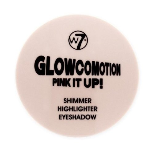 W7 Glowcomotion Pink it Up Shimmer Highlighter Eyeshadow