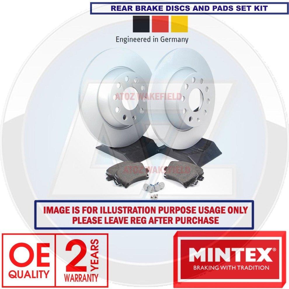 VAUXHALL MERIVA B 1.4 1.3 1.7 CDTI FRONT /& REAR BRAKE PADS /& DISCS 308MM