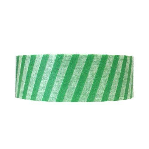 Wrapables Colorful Patterns Washi Masking Tape St Patrick Stripes
