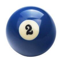 1 PCS Cue Sport Snooker USA Pool Billiard Balls 57.2 mm /2-1/4 - NO.2
