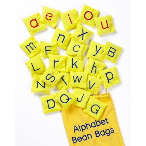 Alphabet Bean Bags - School Learning Educational Toys - A to Z Bean Bags ABC
