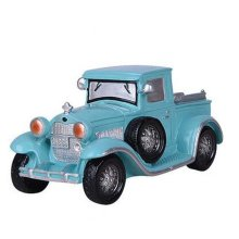 Children Piggy Bank Creative Money Cans Or Gift Ornaments, Blue Classic Cars