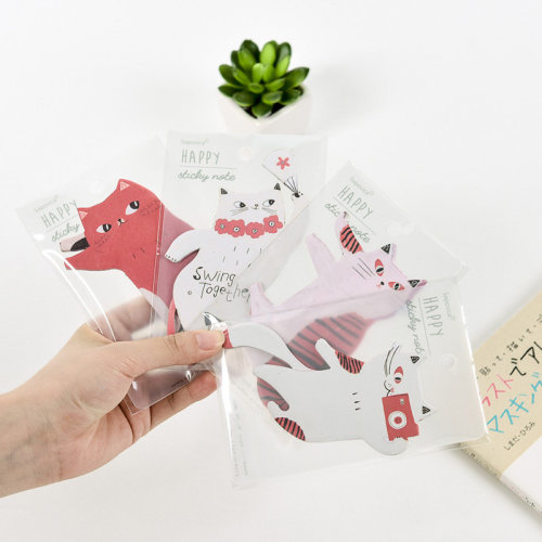 Cute Kitten Cat Sticky Notes