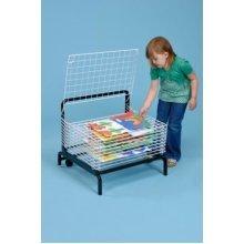 10 Shelf Spring Loaded Art Drying Rack (A1166)