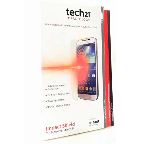 Tech21 Impact Shield Screen Protector for Samsung Galaxy S4 i9500
