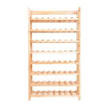 Homcom Wood Wine Rack 120 Floor Standing 8 Shelf