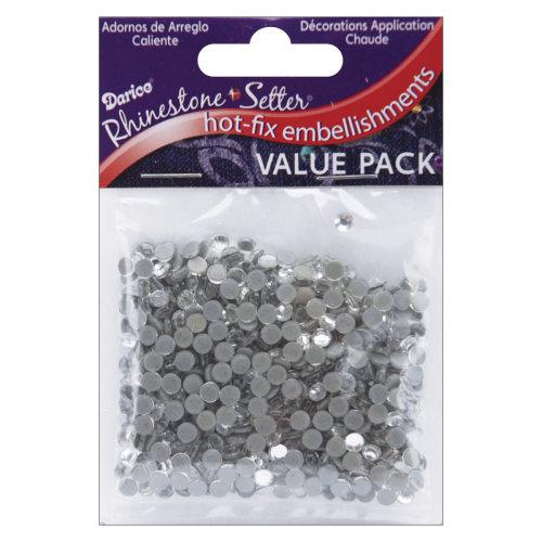 Rhinestone Setter Hot-Fix Glass Stones 4mm 750/Pkg-Crystal