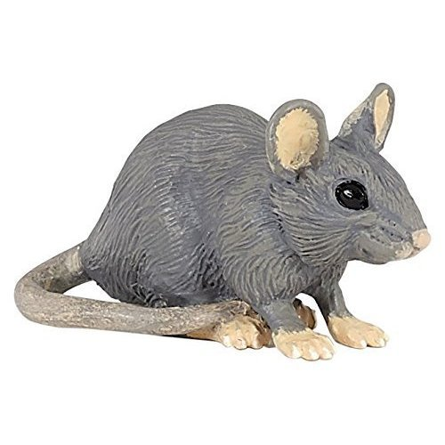 "Papo ""house Mouse"" Figure (multi-colour) - Mouse House Wild Animals 50205 -  papo mouse house wild animals 50205 figure multicolour cm novelty 2016 x5"