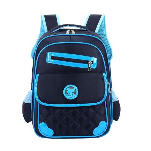 83f4fca17ee3 Uniui Primary School Bag Dark Blue Backpack for 6-12 Years Old Girls Boys  Waterproof Nylon Schoolbag Kids Rucksack Children Travel Bag Students... on  OnBuy