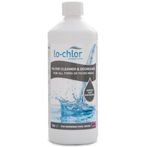 Lo-Chlor Swimming Pool Filter Cleaner & Degreaser - Cartridge Filter Cleaner