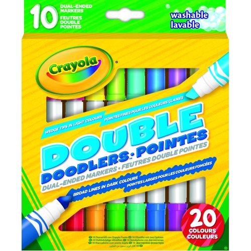 Crayola Double Doodle Markers (Pack of 10)
