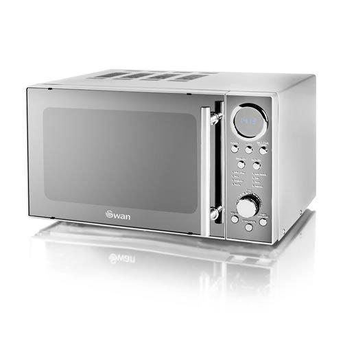 Swan Digital Microwave, 800 Watt (Model No. SM3080N)