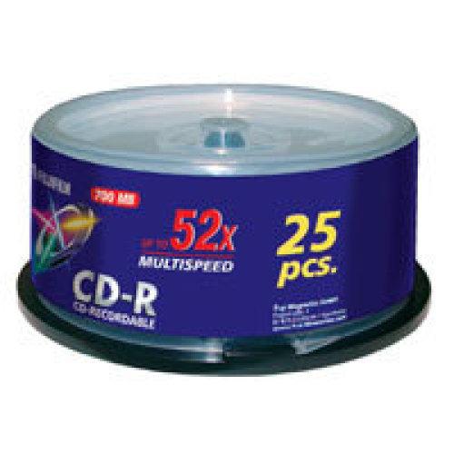 Fujifilm P10DCRCA14A CD-R 700MB 25pc(s) blank CD