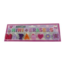 Childrens Mini Erasers - Maya