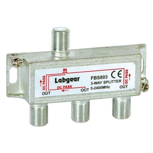 LABGEAR FBS803 3 WAY SPLITTER (POWER PASS ALL PORTS)