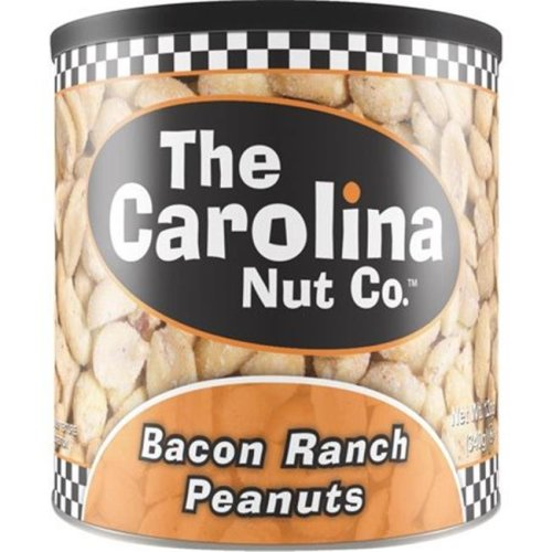 Thorfood-Carolina Nut 250957 12 oz Bacon Ranch Peanuts - Pack of 6