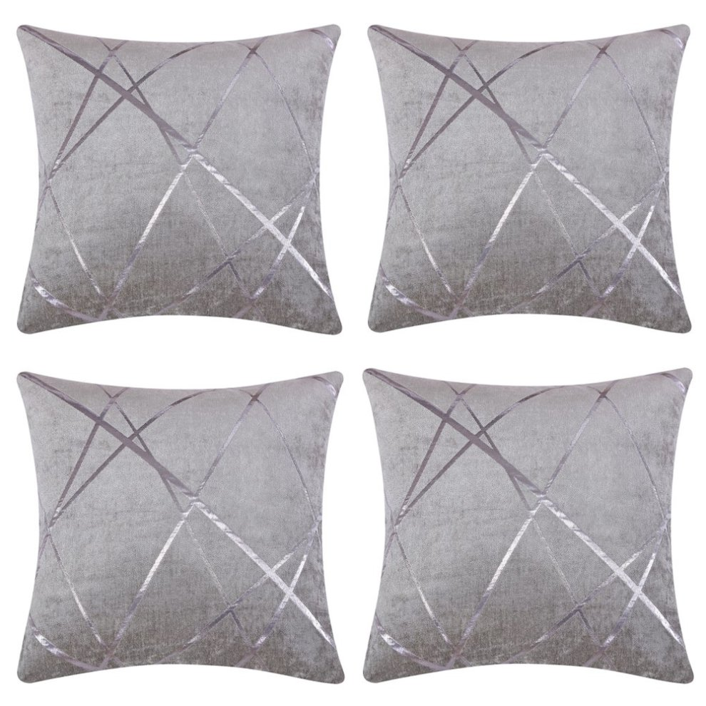 Josca 4 Pcs Luxury Soft Shell Geometric