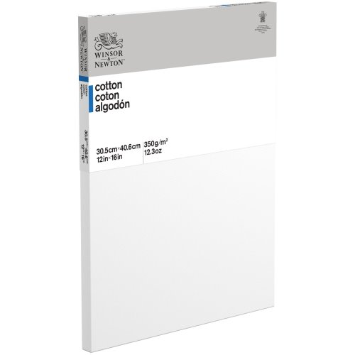 """Winsor Newton Professional Stretched Canvas Cotton-12""""X16"""""""