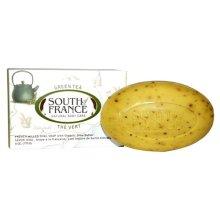 South of France Natural Bar Soap, Green Tea, 6 Ounce