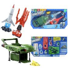 4pc Thunderbirds Are Go! Vehicle Super Set | Official Thunderbirds Vehicle Set