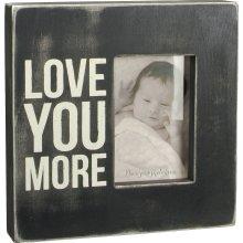 Primitives Box Sign - Love You More Frame