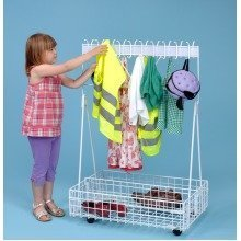 Childrens Mobile Cloakroom Storage Trolley (A1170)