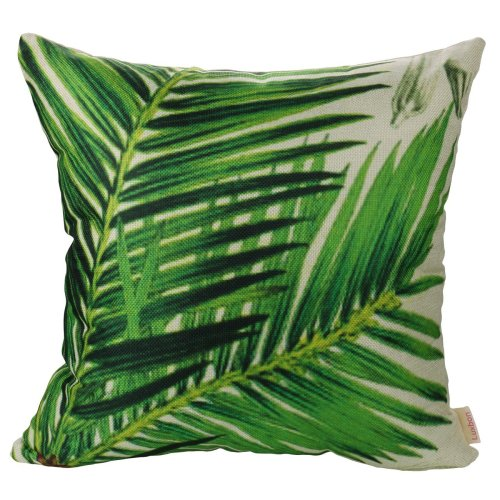 Luxbon Green Sago Cycas Leaf Outdoor Cushion Cover Bamboo Leaves