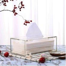 Simple Transparent Tissue Box