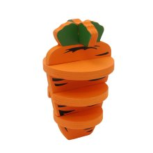 Boredom Breakers Woodies 3-d Carrot (Pack of 6)