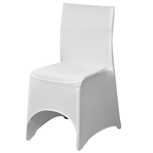 Peachy Trixes White Spandex Lycra Chair Cover For Banquets Wedding Reception Parties Andrewgaddart Wooden Chair Designs For Living Room Andrewgaddartcom