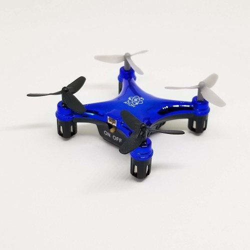 Propel Atom 1.0 Micro Drone Indoor/Outdoor Wireless Quadrocopter - Blue
