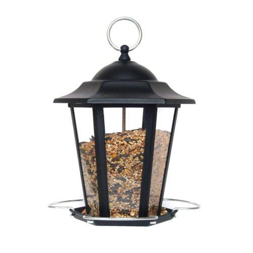 Supa Premium Lantern Seed Feeder Black