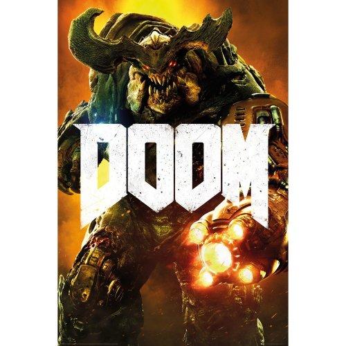 Doom Cyber Demon Maxi Poster
