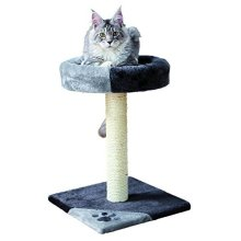 Trixie Tarifa Scratching Post, 52 Cm, Grey/black - Postcm Greyblack -  trixie tarifa scratching post 52 cm greyblack
