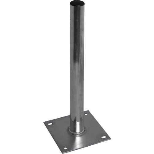 SKT QSF10000 Mast base stand pole ground plate mount 100 cm height for satellite dish