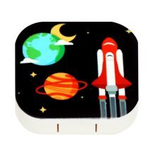 Outer Space Style Contact Lens Box For Travel