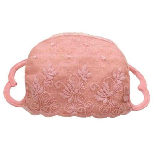 Exquisite Breathable Lace Floral Mask Cold-proof Mask Facial Masks-07